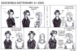 Discworld Dictionary K by kian