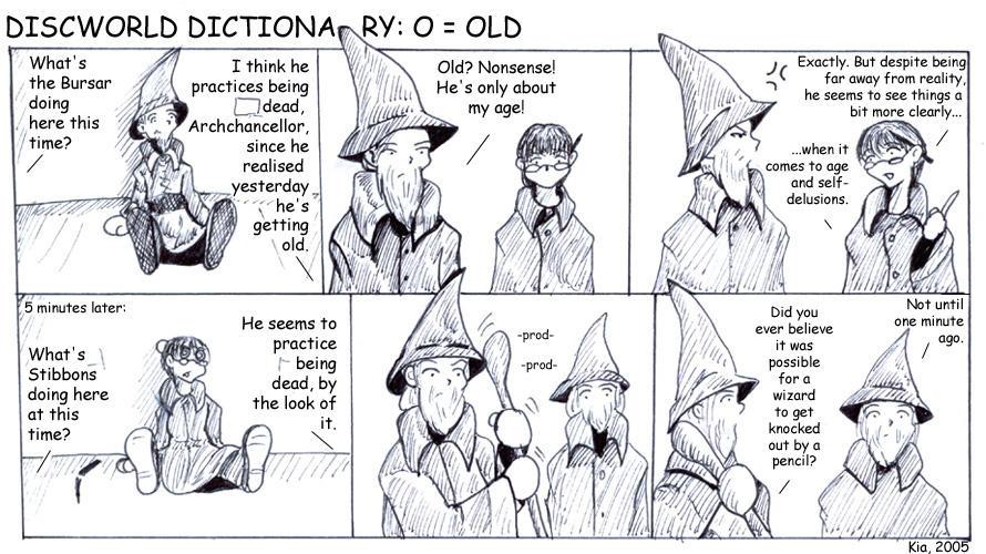 Discworld Dictionary O by kian