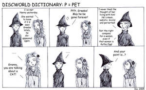 Discworld Dictionary P by kian