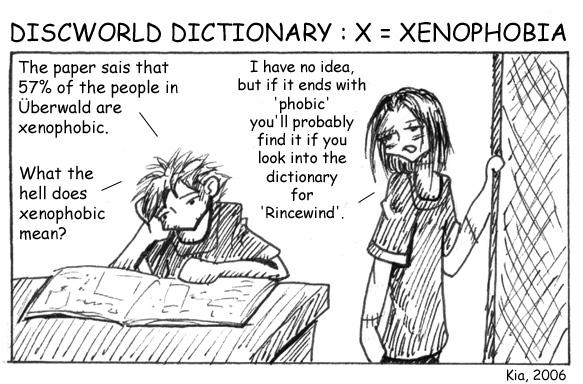Discworld Dictionary X by kian
