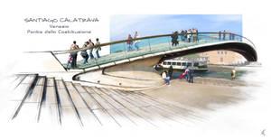 Ponte della Costituzione by Winerla
