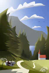 Jura - Summer Postcard 2016 #1 by Winerla