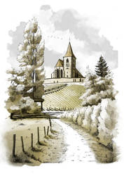 Hunawihr - Eglise Saint-Jacques-le-Majeur by Winerla
