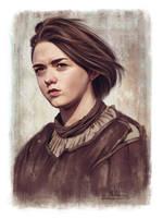 Arya Stark by whikiko