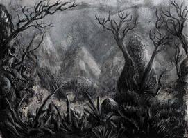 Dark Forest by Ariad-Arts