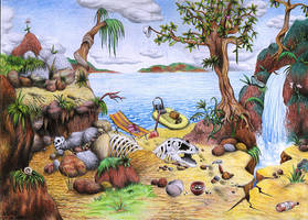 Where Is The Paleontologist? by Ariad-Arts