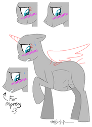 Pregnant Pony Base(With mpreg)[READ THE RULES] by Pack-Leader-Sally