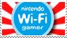 Wi-Fi Gamer Stamp by andrewmangaka