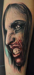Zombie girl by chadchase