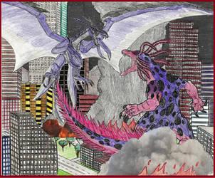 Diayos vs. King Axoloc by WoodZilla200
