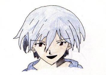 Kaworu Nagisa by animeangelblue