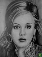 Adele: For Someone Like You by Terry-L-T-Kitto