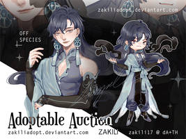 Adoptable |Single Auction [Close] by zakilin