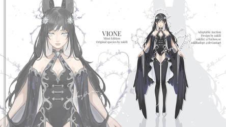 [Single Adoptable] Vione - Mimi Edition [Closed] by zakiliadopt