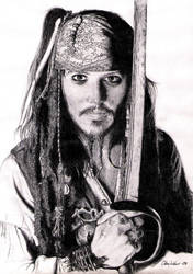 Captain Jack Sparrow by Strapping-Young-Lad