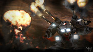 Mech 2011 - War Machine by sijp