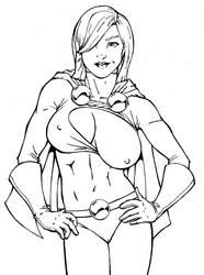 Powergirl by ComixArt