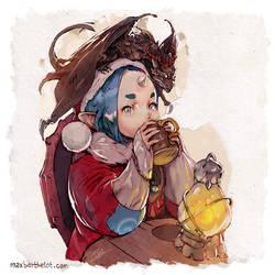 Hot Drink by makushiro