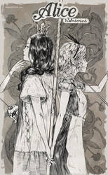 Alice in Wonderland by makushiro