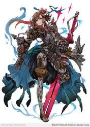 TerraBattle2 character by makushiro