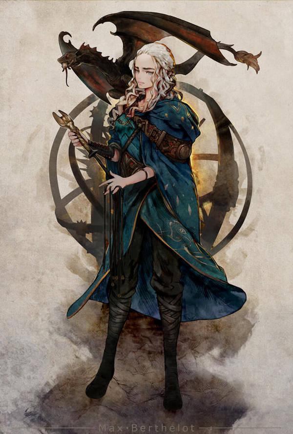 Game Of Thrones - Daenerys by makushiro