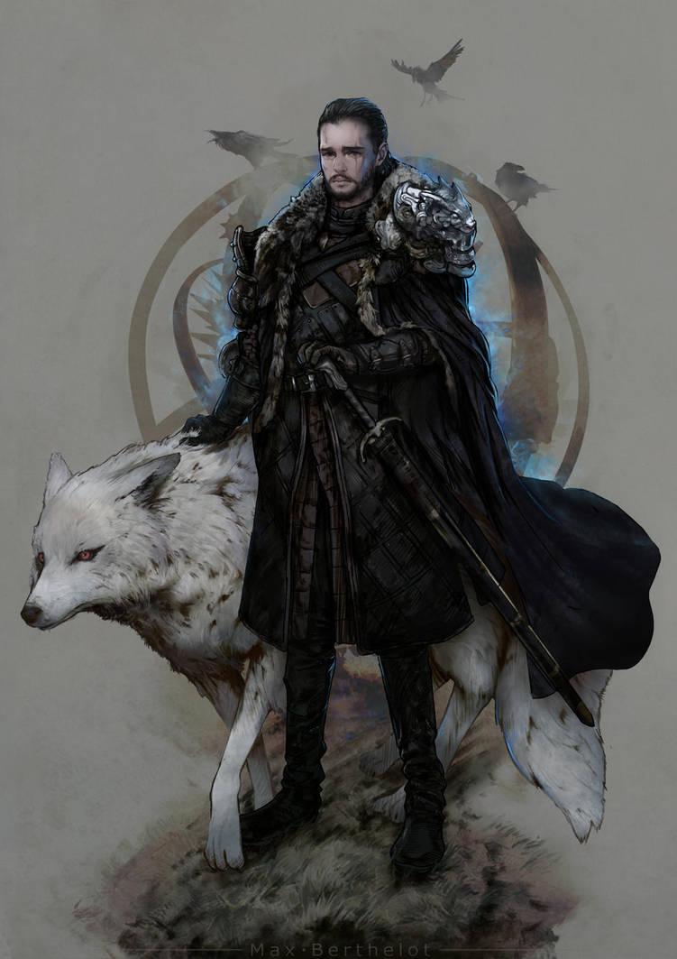 Game Of Thrones - Jon Snow by makushiro
