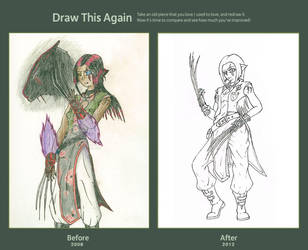 Draw This Again Contest by Oblivexx