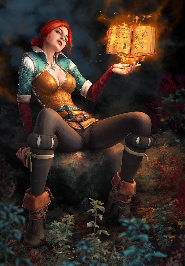 Triss' Alchemy by xenbis