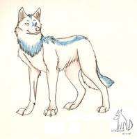 White Wolf Request by Kigerwolf