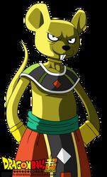 mouse god of the destruction by warren-morelos