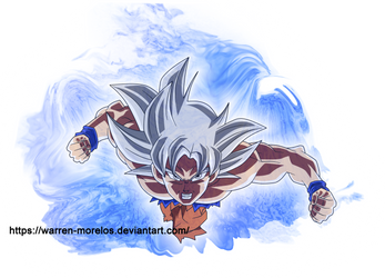 Goku-ultra instinct by warren-morelos