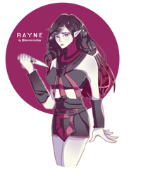 Commission - Rayne by vezuchiy