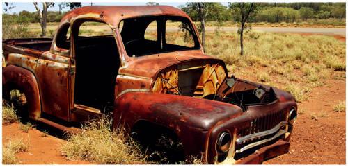 desert truck by Johanna-Lee