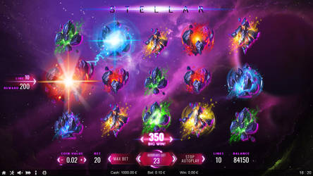 Stellar (slot game) by KhajiitSawyer