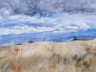 An oncoming storm by KorsonOraakkeli