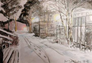 First snow by KorsonOraakkeli
