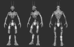 District 9 Alien Turntable by Grimnor