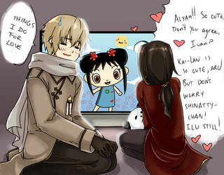 APH: Things I Do For love.... by harajuku-bunny