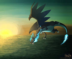 Mega Charizard X by RadissonClaire