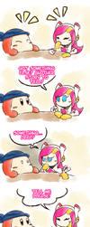 Kirby_Secret Gambit by Chivi-chivik
