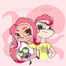Splatoon 2_Octopus day by Chivi-chivik