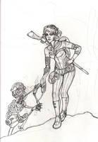 Steampunk Girl by GoddessVirage
