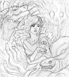 Otherkin - Lineart by GoddessVirage