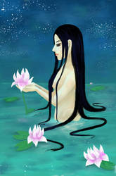 Waterspirt by sofie-arts