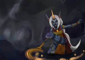 Soraka by sofie-arts