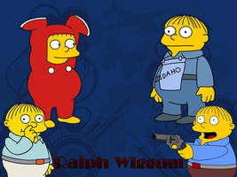 Ralph Wiggum Wallpaper by ninphelos
