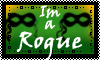 Stamp: Im a Rogue by StephDragonness