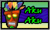 stamp: Aku Aku ~original by StephDragonness