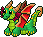 Pixel: Pixel Emoticon ~Western Dragon