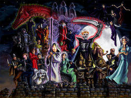 The Discworld Villians by a-discworld-guild